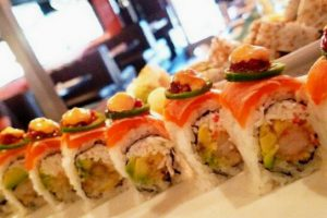 Delux Sushi Roll