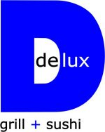 Delux Grill Sushi Logo Blue
